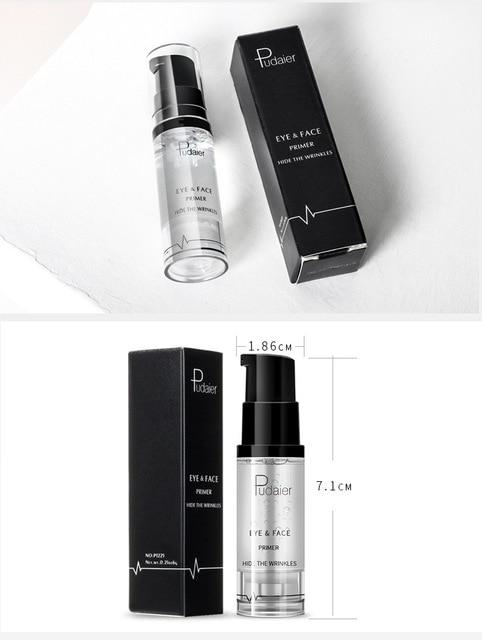 Pudaier 1PC 18ml Primer Makeup Maquillaje Eyes Gel Cream Liquid Smooth Lines Eyeshadow Facial Base Eye Shadow Foundation 5