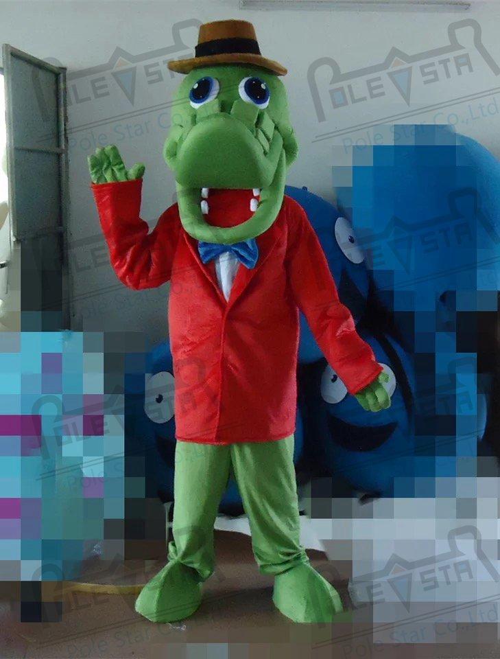 quality Mr crocodile mascot  costumes cartoon alligator mascot design