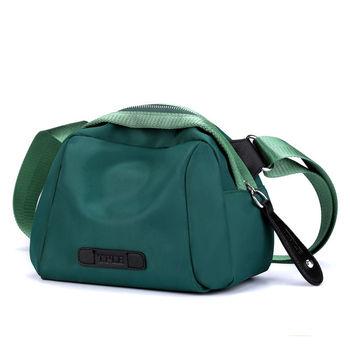 Nylonowe torebki damskie na ramię jednokolorowe torebki damskie wodoodporne damskie torebki Crossbody modne pakowne torebki dla dziewczynek tanie i dobre opinie RUIPAI Circular Torby na ramię Na ramię i torby crossbody CN (pochodzenie) zipper SOFT NONE Na co dzień S-802# Poliester