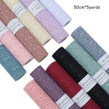 50cm*5yards/roll Korean  High-grade Flowers Wrapping Paper Bouquet Material Yarn Rose Packaging Gauze