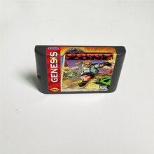 كومكس زون 16 بت MD بطاقة الألعاب لخرطوشة وحدة التحكم في لعبة فيديو سيجا ميغادريف نشأة