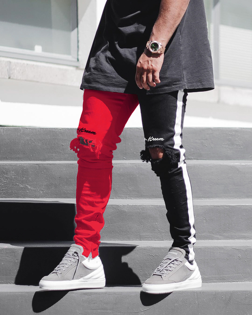 Men Stylish Ripped Jeans 4
