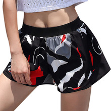 цена Sports Short Women Yoga Short Fitness Stretch Sport Elastic Quick Dry Running Workout Shorts Women Athletic Shorts онлайн в 2017 году