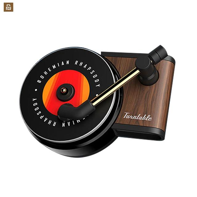 Original Youpin Sothing TITA Turntable Phonograph Car Fragrance Car Air Freshener with 3pcs Replace Aromatherapy Tablets
