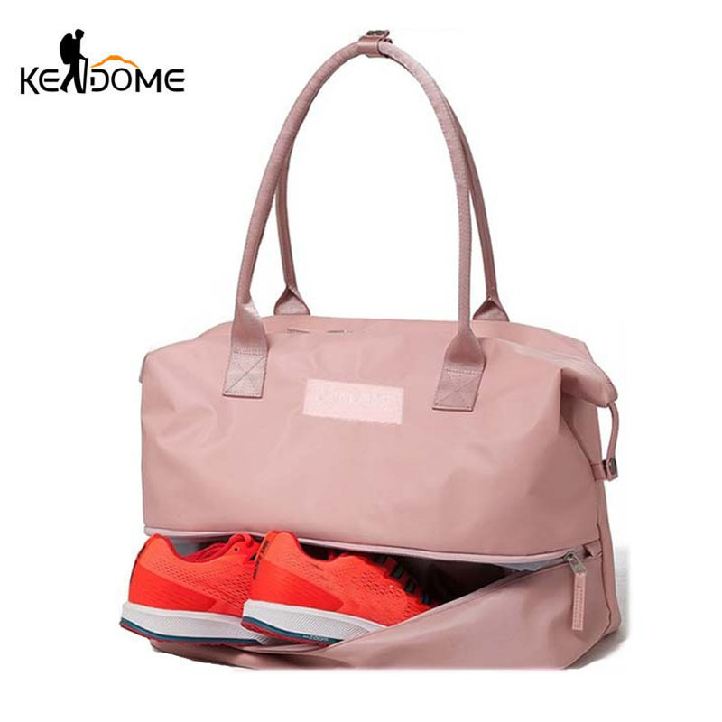 Sports Gym Fitness Dry Wet Separation Yoga Bag Travel Handbags For Shoes Women The Shoulder Sac De Sport Luggage Duffle XA965WD