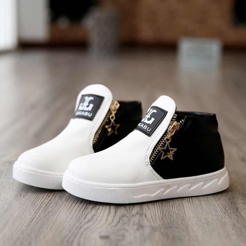 חורף ילדי עור נעלי בני אמיתי Leathe ילדה שמלת חתונה אוקספורד שחור נעלי ילדי אופנה כללי התנהגות בית ספר נעליים