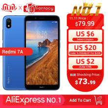 "In Stock Global Version Xiaomi Redmi 7A 7 2GB 16GB 5.45 ""Snapdargon 439 OCTA Core โทรศัพท์ 4000mAh 12MP กล้องสมาร์ทโฟน(China)"