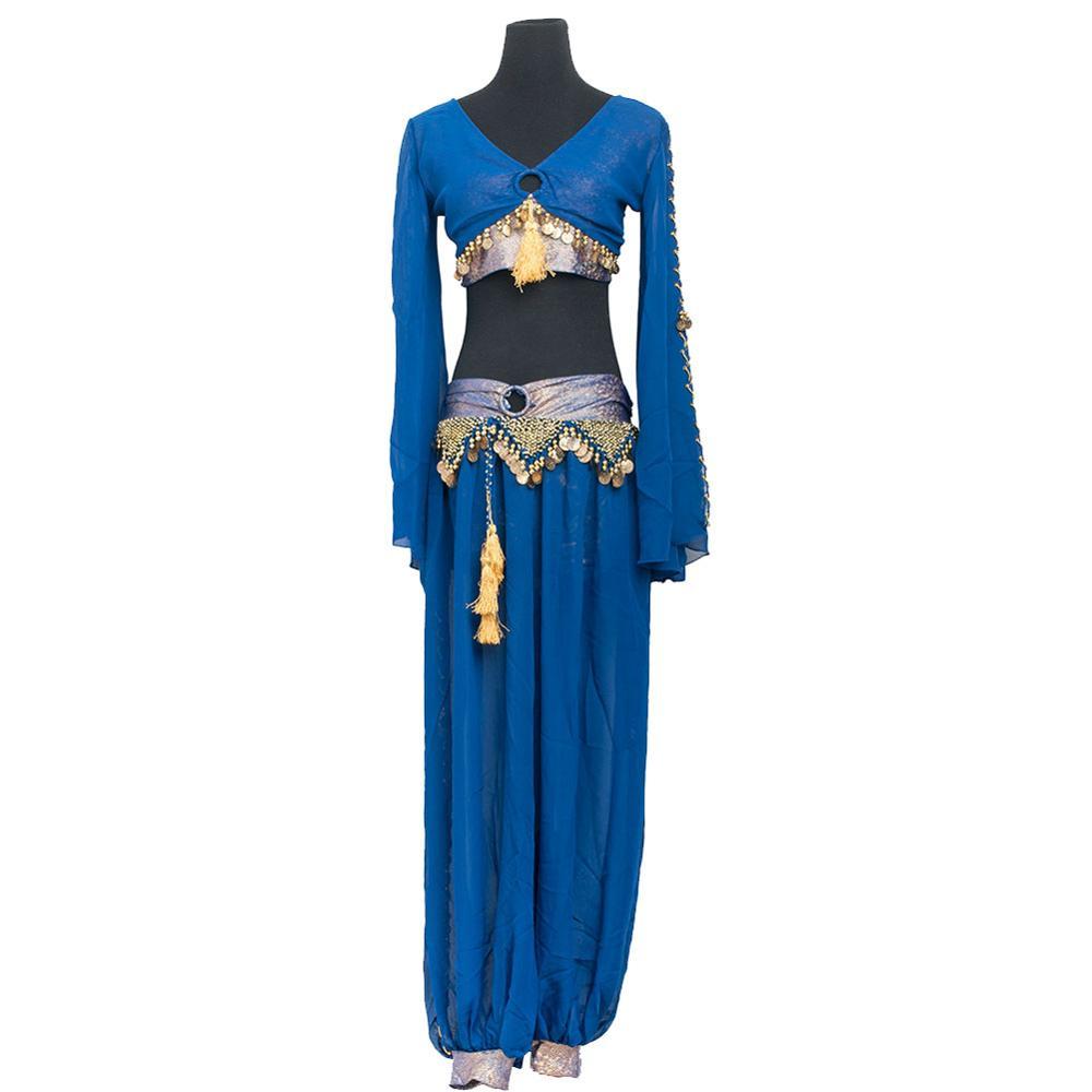 New Arrival Women Cheap Bellydancing Oriental Dance Tribal Arabic Belly Dance Costumes Set 7100