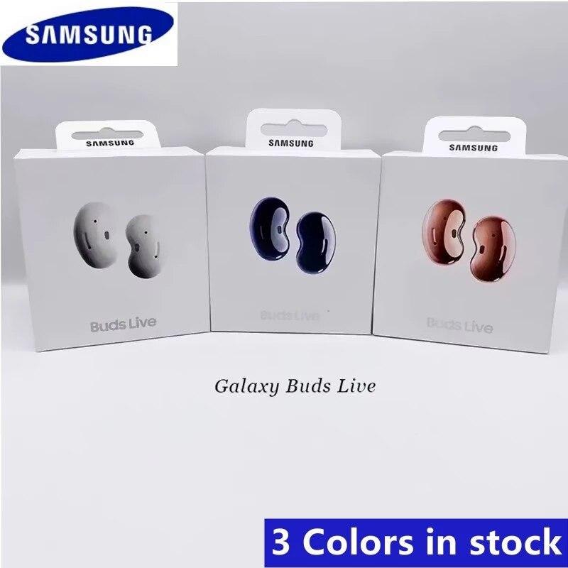 Samsung Galaxy Buds Live, BUDSLIVE настоящие Беспроводные наушники с активным шумоподавлением, беспроводной зарядный чехол