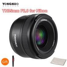 YONGNUO – objectif YN35mm F2.0 F2N YN35mm AF/MF Focus pour Nikon F Mount D7100 D3200 D3300 D3100 D5100 D90 DSLR Camera YN35mm