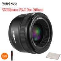 YONGNUO YN35mm F2.0 F2N Objektiv YN35mm AF/MF Fokus Objektiv für Nikon F Mount D7100 D3200 D3300 D3100 D5100 d90 DSLR Kamera YN35mm Objektiv