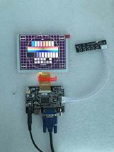 Yqwsyxl HDMI + VGA + 2AV ZJ050NA-08C 50 pin 640*480 плата драйвера ЖК-дисплея, комплект контроллера для 5,0 дюймового ЖК-экрана