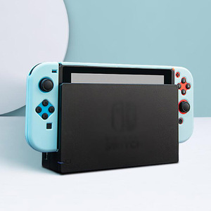 Image 5 - צבעוני קשיח מלא חזרה כיסוי קריסטל מעטפת עבור Nintendo מתג NS קונסולת שמחה קון בקר מגן סרט מדבקת עור מקרה