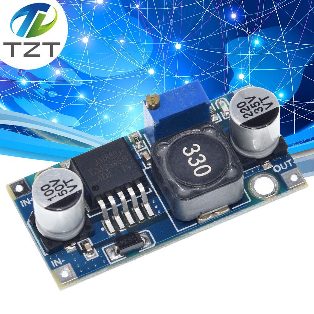 20 штук Ультра-маленький LM2596 источника питания модуль постоянного тока/DC понижающий 3A настраиваемый понижающий модуль-регулятор ультра LM2596S...