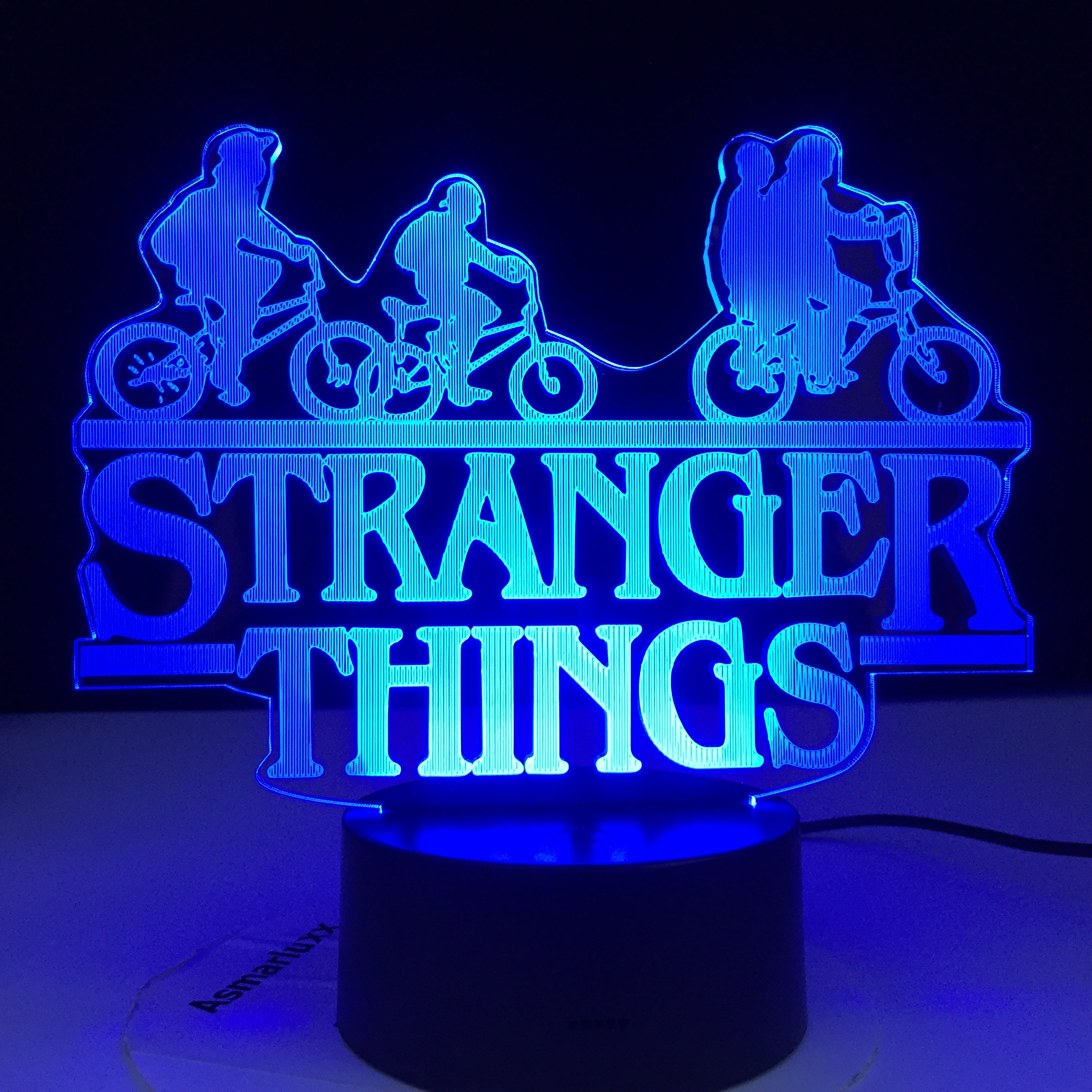 Best Sale 4c5e2 Stranger Things American Web Tv Series Led Night Light 7 Colors Changing Touch Sensor Bedroom Nightlight Table Lamp Best Gift Cicig Co