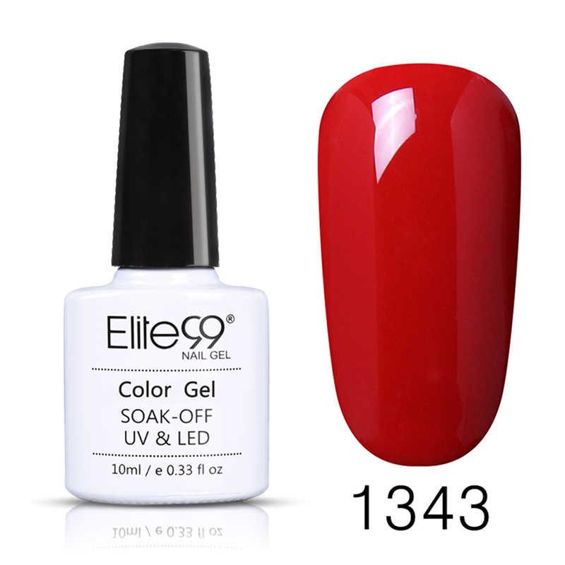 Elite99 couche de finition Vernis à ongles été, Vernis à ongles UV Semi Permanent, Vernis de finition, Vernis de couleur Pure, Vernis à GelLak, 10ml