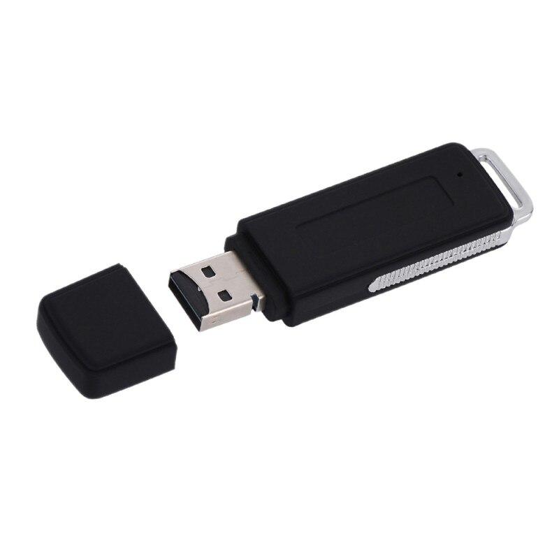 2in1 USB Driver Digital Audio Voice Recorder 4GB 8GB 16GB U Flash Disk Portable Recording Dictaphone for PC
