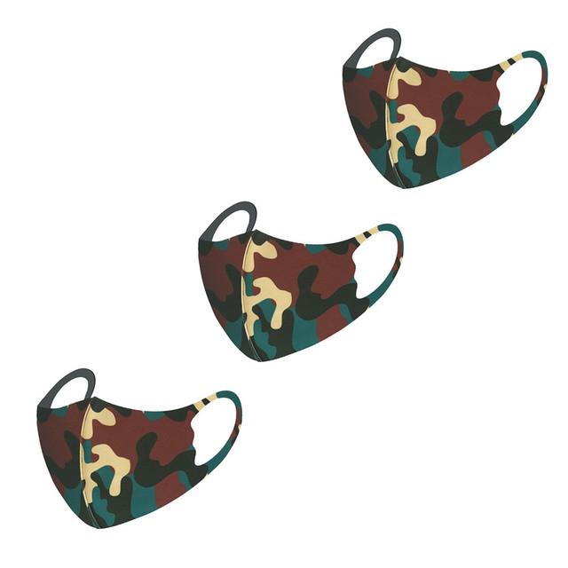 3PCS Children Gradient Reusable Mouth Mask Fashion Cotton Breathable