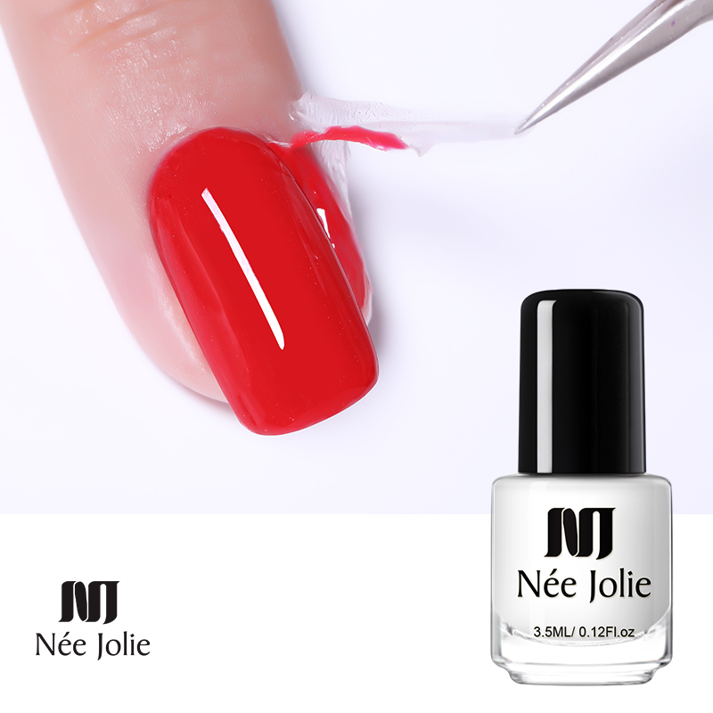 NEE JOLIE Nail Latex Peel Off Liquid Tape From Protection Finger Lacquer Protect Nails Polish Anti-overflow Glue