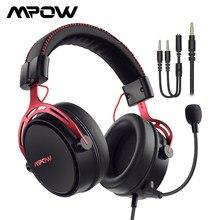 Mpow-auriculares sonido envolvente 3D con cable Air SE para videojuegos, cascos con micrófono y cancelación de ruido, Control en línea, para PC, PS4, PS5