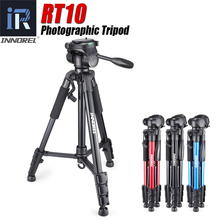 INNOREL RT10 Camera Tripod Professional Aluminium Alloy Lightweight Travel Compact Tripod with Quick Release Plate & Pan Head