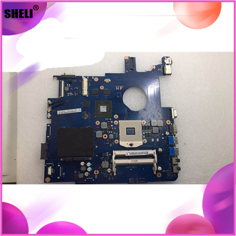 SHELI For Samsung NP550 NP550P5C Laptop Motherboard BA92-09094A BA92-09094B / BA92-10604A image