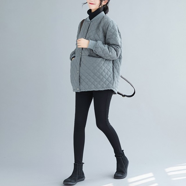 Aransue 2020 New Cotton Padded Coat Thickened Baseball Collar Jacket Short Design Outer Garment For Female Autumn Winter Top 5