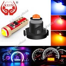 KEIN 10PCS T5 Led T3 T4.2 T4.7 Meter Bulb W5W Led Neo Wedge Car Interior Dashboard Lamp Instrument Dash Lights Auto Signal Bulb