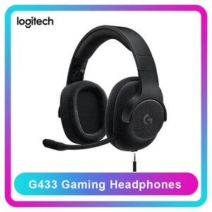 Image 1 - מקורי Logitech G433 מקצועי משחקי אוזניות Wired אוזניות 7.1 Surround עם מיקרופון עבור כל גיימר PC PS4 PS4 פרו נינטנדו
