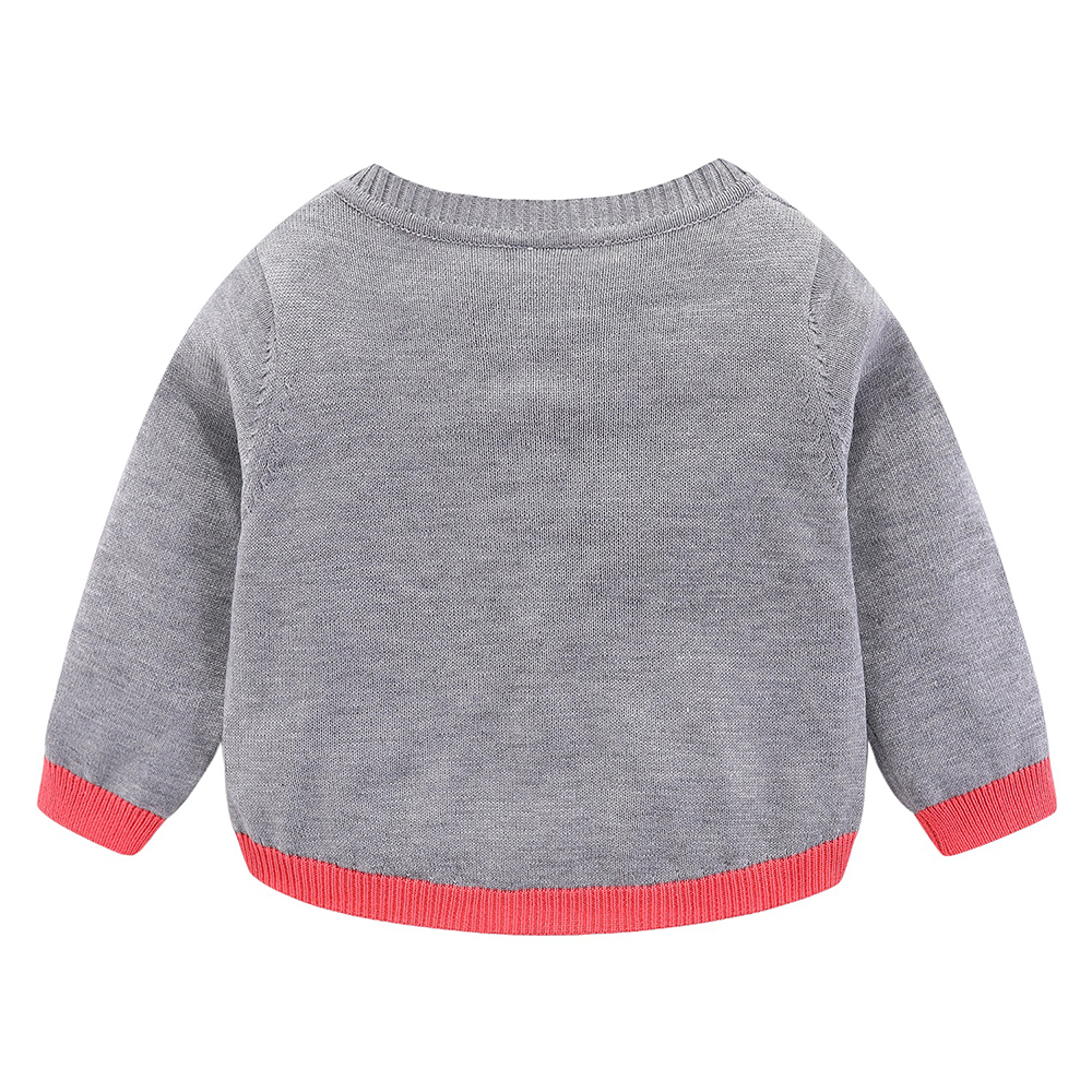 Mudkingdom Girls Boys Knitted Cardigan Sweater Rainbow Clouds Thin Outerwear Tops for Kids 3