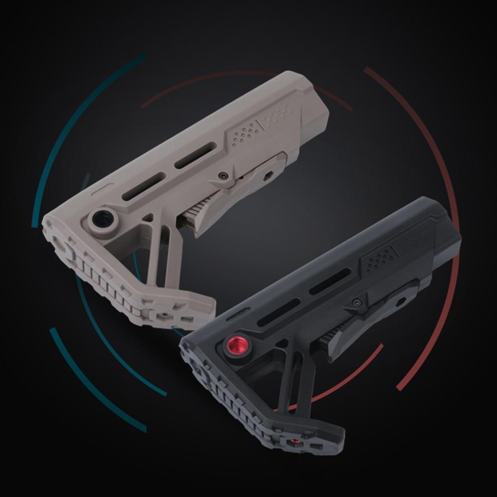 High Quality Nylon Stock For Air Guns Airsoft Gel Blaster AEG Gen8 Jinming9 M4 AK Paintball Accessories