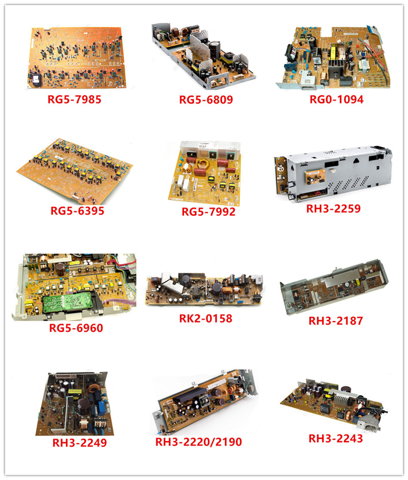RG5-7985|RG5-6809|RG0-1094|RG5-6395|RG5-7992|RH3-2259|RG5-6960|RK2-0158 |RH3-2187|RH3-2249|RH3-2220/2190|RH3-2243 Used