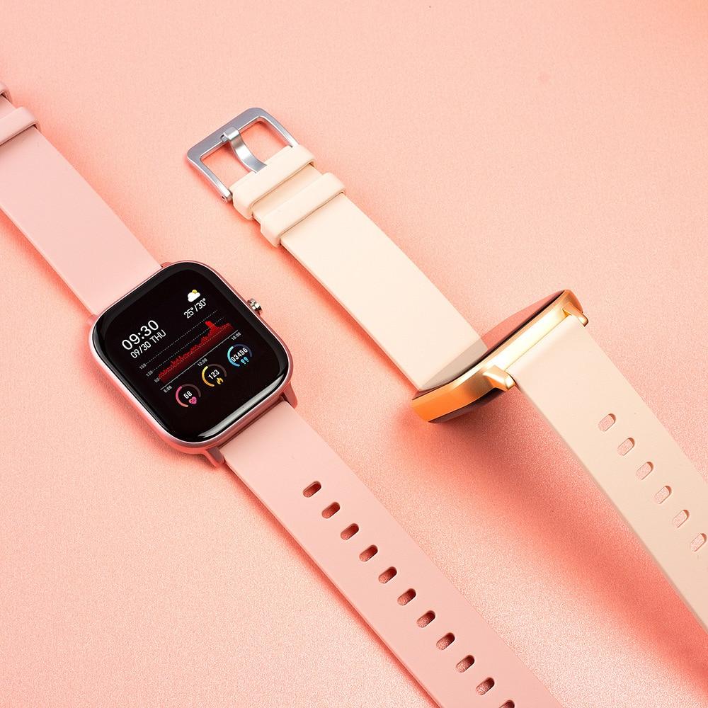 Colmi P8 1.4 Inch Slimme Horloge Mannen Full Touch Fitness Tracker Bloeddruk Smart Klok Vrouwen Gts Smartwatch Voor Xiaomi 5