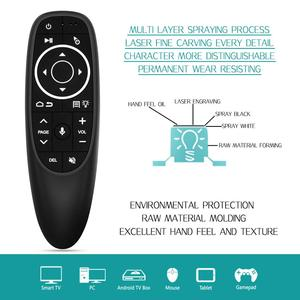 Image 3 - L8STAR G10 Air Mouse Voice Control with 2.4G USB Receiver Gyro Sensing Mini Wireless Smart Remote for Android TV BOX HK1 X96mini