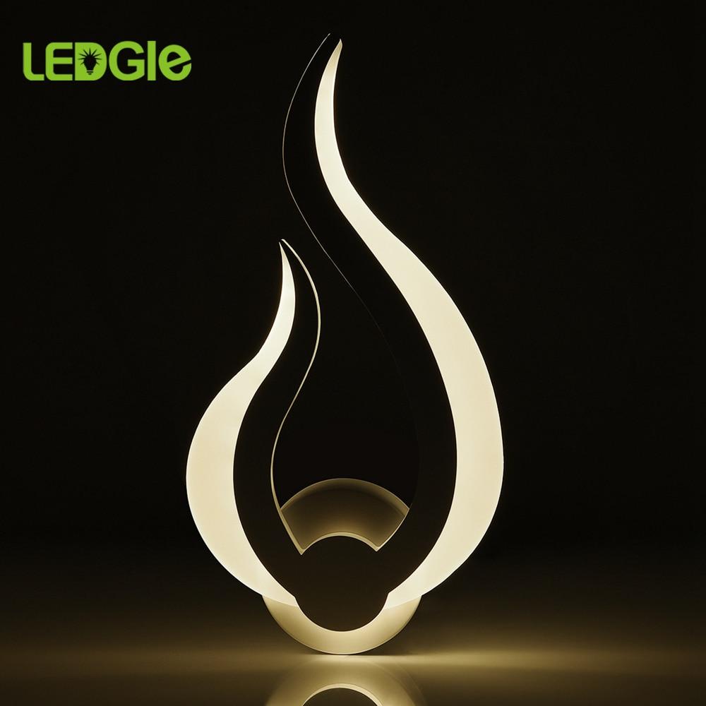 LEDGLE 10W Led Wall Lamps Bedside Modern Wall Light Wandlamp Sconce Wall Lights For Home Bedroom Living Room Hallway Art Decor
