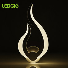 LEDGLE, lámparas led de pared de 10 W, lámpara de pared moderna, lámpara de pared, candelabro, luces de pared para el hogar, dormitorio, sala, pasillo, decoración artística(China)