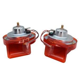 Image 5 - 12V 300dB Universal Car Horn Signal for Auto Vehicle Trucks siren Car Horn Black Snail Waterproof Signal Car Accessories + Relay
