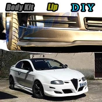 Faldón Deflector de alerón delantero para parachoques de coche, para Alfa Romeo...