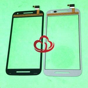 10 шт. сенсорный экран для Motorola Moto G (3-е поколение) G3 XT1540 1541 1542 1543 1544 Передняя стеклянная крышка для ЖК-экрана