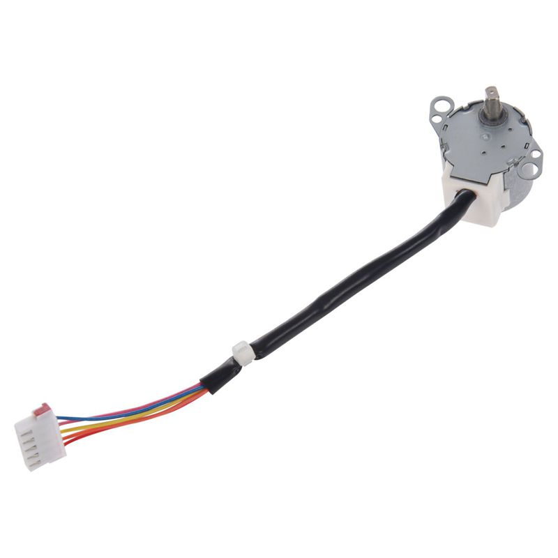 Promotion! DC <font><b>12V</b></font> CNC Reducing Stepping Stepper Motor 0.6A 10oz.in <font><b>24BYJ48</b></font> Silver image