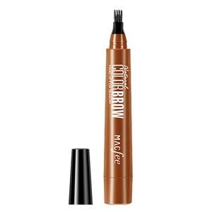 1 шт., Водостойкий карандаш для бровей с вилочным наконечником, стойкий тонкий эскиз, жидкий карандаш для татуировки бровей Pro, микроблейдинг...