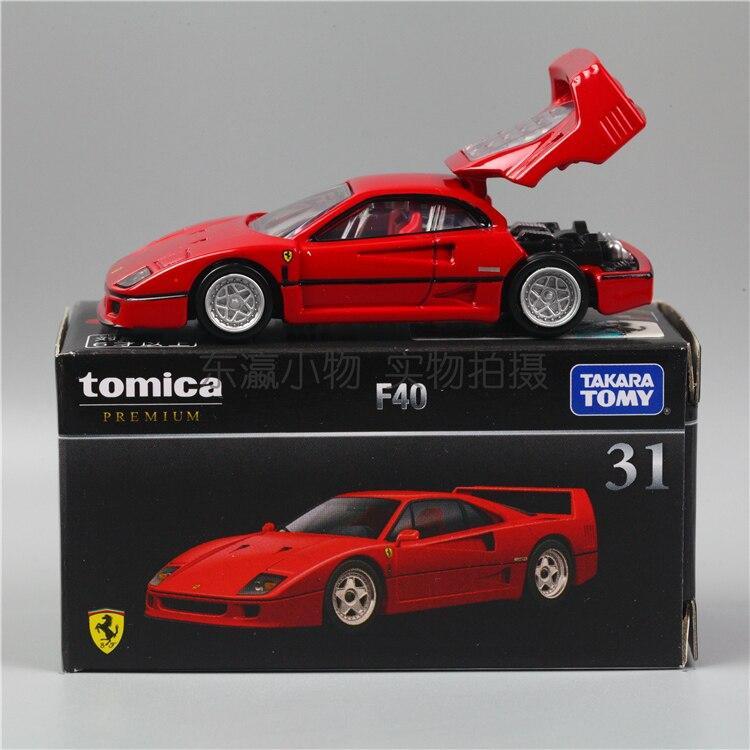 TOMY – voiture en alliage TEC TOMICA PREMIUM Ferrari F40 TP 31, édition limitée, 1/64