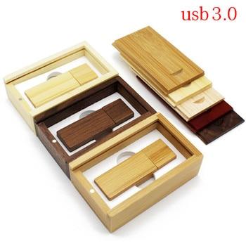 TEXT ME usb3.0 Maple wood+box usb flash drive pendrive 4GB 8GB 16GB 32GB maple usb 3.0 wooden LOGO engrave