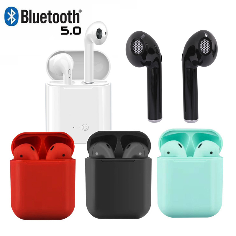 I12 TWS Wireless Headphones I11 Bluetooth 5.0 HIFI Bass I9s In-ear Earphones I7s Mini Earbuds Stereo Music For Iphone X Samsung