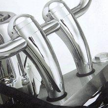 CB1000 Motorcycle Heightening Fixed seat Clamps Risers Handlebar Bar Mount For Honda NC700 CB300 CB 500 1100 CB1300
