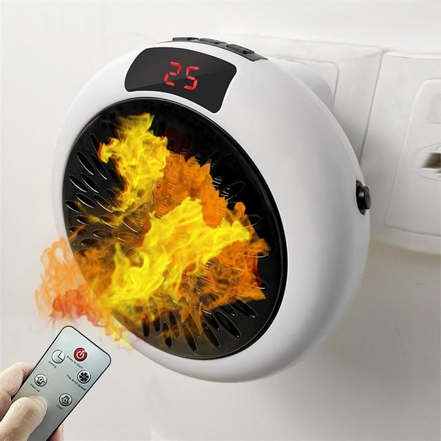 Fan Heater For Home 900w Mini Electric Heater Home Heating Electric Warm Air Fan Office Room Heaters Handy Air Heater Warmer Fan 1