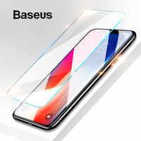 Baseus 0.15 millimetri Protezione Dello Schermo Super Sottile Per il iPhone Xs Max Xs XR Vetro Pellicola 2018 Anti Luce Blu Temperato vetro Per il iPhone X
