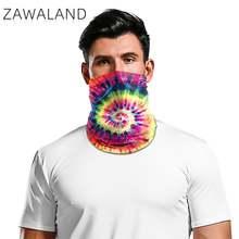 Zawaland мотоциклетная маска для лица шарф галстук окрашенные