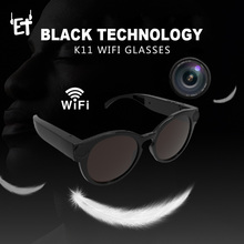 Cámara inteligente ET K11 HD Wifi, gafas, Mini videocámara Digital portátil 1080P FHD, gafas de sol deportivas