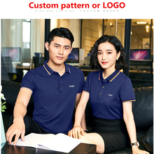 Футболка на заказ DIY, корпоративная реклама, культурная рубашка, рабочая одежда с коротким рукавом, рабочая одежда, вышивка, логотип на заказ